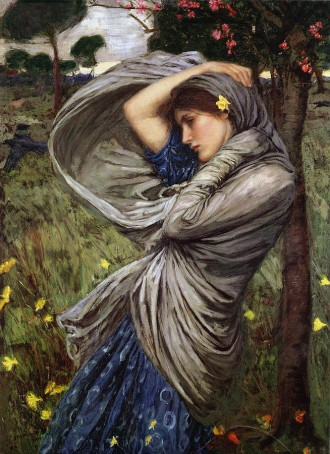 'Boreas' (1903) John William Waterhouse